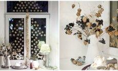 Išskirtinis Kalėdų dekoras: kaip nenuobodžiai panaudoti karpinius ir nėrinius