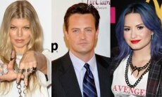 Fergie, Matthew Perry, Demi Lovato