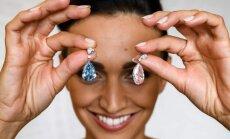 Auskarai su deimantais už rekordinę sumą