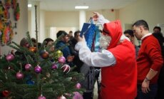 Christmas in Rukla Refugee Centre