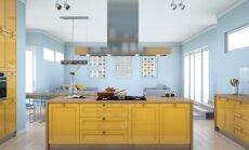 Virtuvės salos įrengimo sprendimai