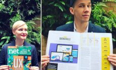 Lietuvius pastebėjo tarptautinis interneto dizainerių žurnalas