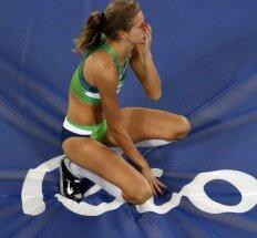 Nesėkmė: A. Palšytė finale Rio įveikė tik 188 cm aukštį ir nepateko į dešimtuką