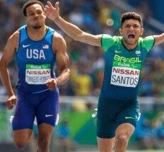 Vienarankis parolimpietis Rio pagerino 100 m pasaulio rekordą – galėtų bėgti net su U. Boltu