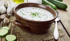 Gaivi vasariška agurkų sriuba