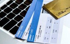 Ar žinote, kodėl neturėtumėte viešinti socialiniuose tinkluose savo kelionės bilieto?