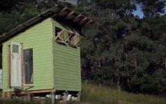 Darau pats: namas, pastatytas iš šiukšlyno radinių, nekainavo nė 400 eurų