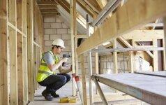 Už pažeidimus – didesnės sankcijos, atsakingiems statytojams – platesnės galimybės