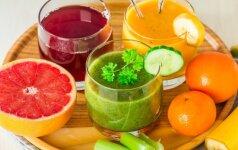 Dietologė: kai kurias sultis reikia gerti šaukšteliais, o ne stiklinėmis