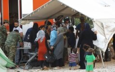 Pabėgėlių stovykla Kavalos mieste Graikijoje (E. Labanausko nuotr.)