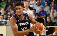 Prancūzai per FIBA atrankos langą į rinktinę kviečia ir žalgirietį A. Toupane'ą