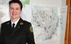 Pirmoji Lietuvoje moteris urėdė: aukštakulniams miške ne vieta