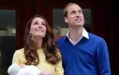K. Middleton ir princo Williamo GIMINĖS ŠOKIRUOTI: nesitikėjome, kad tai įvyks taip greitai