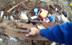 Filmuota medžiaga: Baltimorės policininkai įtariami klastoję įkalčius