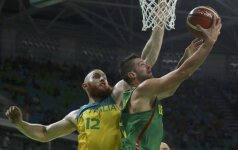 M. Kalnietis apie olimpiadą: rezultatas tikrai nėra toks, kokio tikėjomės