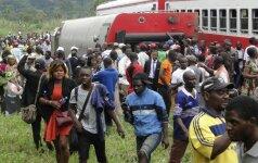 Traukinio avarija Kamerūne