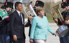 Pusė vokiečių nusiteikę prieš A. Merkel tolimesnę karjerą kanclerės poste