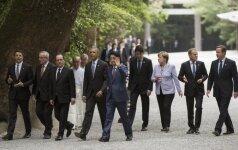 Sicilijoje prasideda Didžiojo septyneto vadovų susitikimas