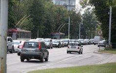 Vilniuje sutriko troleibusų eismas