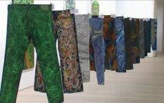Patobulinti įžymybių džinsai – paramai pabėgėliams rinkti