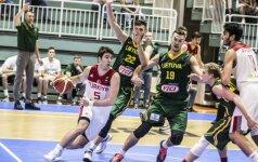 Lietuvos 20-mečiai parklupdė turkus ir pateko į Europos čempionato finalą