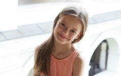 Elenos Puidokaitės duktė Saulė