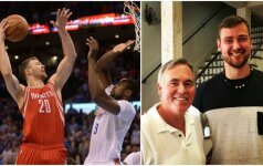 """Kai verslas trukdo krepšiniui: """"Rockets"""" treneris D. Motiejūno laukia išskėstomis rankomis"""