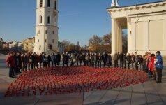 Žvakutės, skirtos 1410 organų donorų, šiemet suliepsnos net 9 miestuose