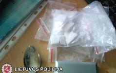 Vilniuje sulaikytas kokaino platintojas