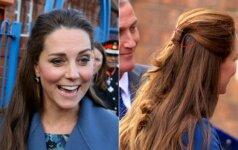 Stilistų klaida: ar Kate Middleton jau pražilo? FOTO