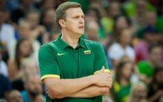 D. Adomaitis apsisprendė: rungtynėse su Latvija žaidėjų netausos