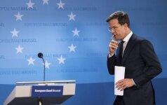 Nyderlanduose premjero M. Rutte liberalai populiarumu susilygino su G. Wilderso ultradešiniaisiais