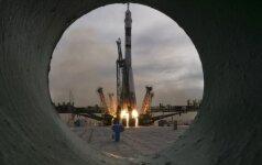 Sojuz raketos startas