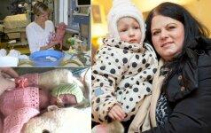 23 nėštumo savaitę gimusios vilnietės istorija: stebuklų būna! FOTO