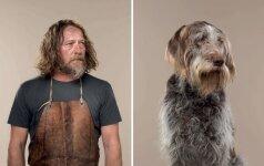 Palygino šeimininkus ir jų šunis: ar matote panašumų?
