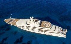 Jachtų festivalyje laurus nuskynė rusų milijardieriaus <em>žaisliukas</em>
