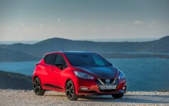 Penktosios kartos Nissan Micra vėl stebina išvaizdos pokyčiais