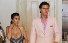 Kourtney Kardashian ir Scottas Disickas