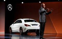 Daimler AG valdybos pirmininkas D. Zetsche pristato Mercedes-Benz naujienas