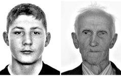 ieškomi dingę be žinios šakių r. gyventojai: šešiolikmetis ir senolis