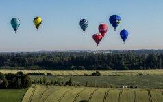 Marijampolėje prasidėjo trečias pasaulio jaunimo karšto oro balionų čempionatas