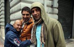 Migrantai giriasi patekę į Europos rojų: po 600 eurų – už nieko neveikimą