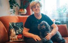 Močiutei Veronikai augintinį atsiuntė pats likimas