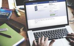 """Kodėl kai kurie """"Facebook"""" vartotojų įrašai rodomi didžiulėmis raidėmis"""