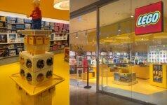 Pirmoji Lietuvoje sertifikuota LEGO parduotuvė Klaipėdoje