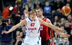 """""""Lietuvos rytas"""" namuose CSKA klubui prilygo tik vieną kėlinį"""