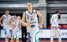 """Nukraujavęs """"TonyBet"""" galingai startavo LKL ketvirtfinalio serijoje"""