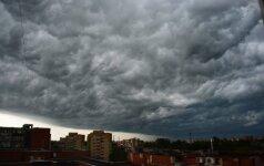 Vasaros debesys. Skaitytojo Eugenijaus nuotr.