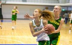 Lietuvos krepšininkės universiadoje iškovojo pirmą pergalę