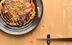 JAPONIŠKI BLYNAI iš makaronų – tikra kulinarinė sensacija